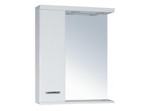 SELLA SILVER 55 L Armatura Zrcadlová skříňka s LED osvětlením 55 - LEVÁ