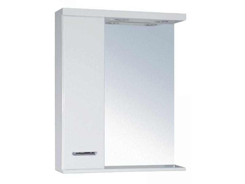 SELLA SILVER 50 L Armatura Zrcadlová skříňka s LED osvětlením 50 - LEVÁ