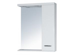 SELLA SILVER 70 P Armatura Zrcadlová skříňka s LED osvětlením 70 - PRAVÁ