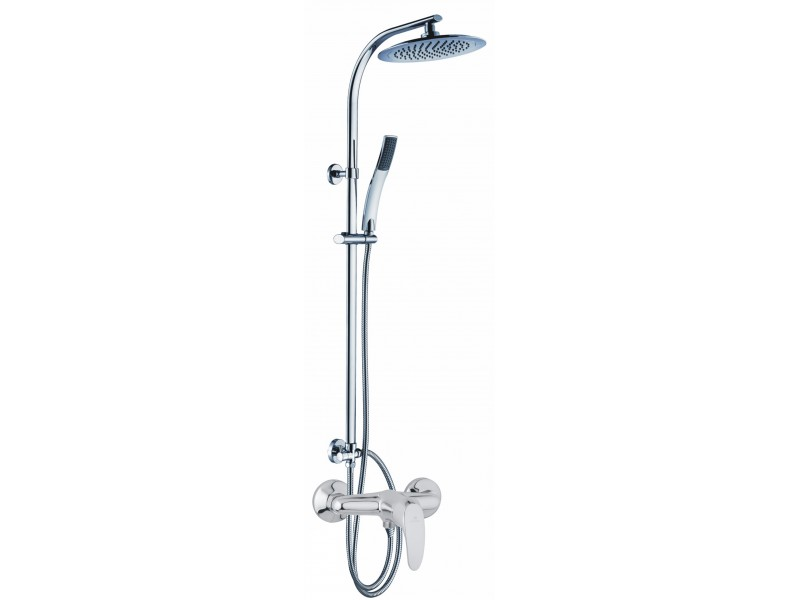 FREJA chrom SLIM Well Sprchový set se sprchovou baterií