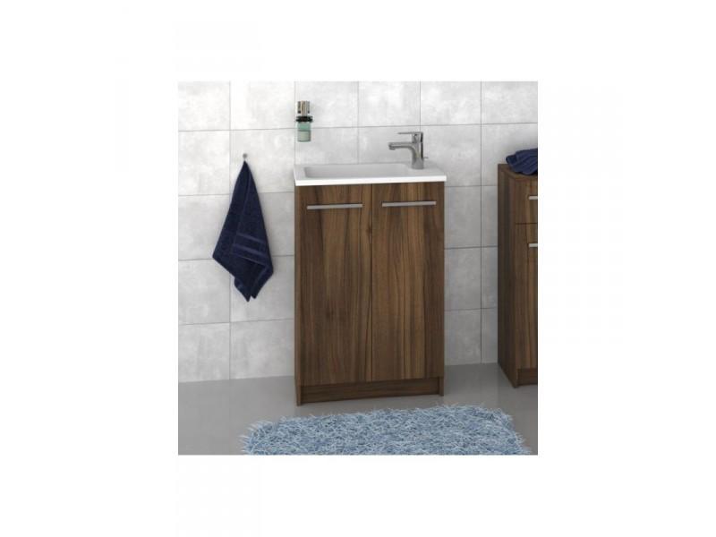 F-STANDARD-U55 Olsen-spa Skříňka s umyvadlem 55 cm, sokl, ořech dijon