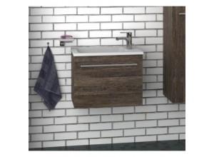 F-EXCLUSIVE-U55 Olsen-spa Skříňka s umyvadlem 55 cm, závěsná, ořech dijon