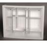 ERGO 62 x 51 Jokey Zrcadlová skříňka - bílá