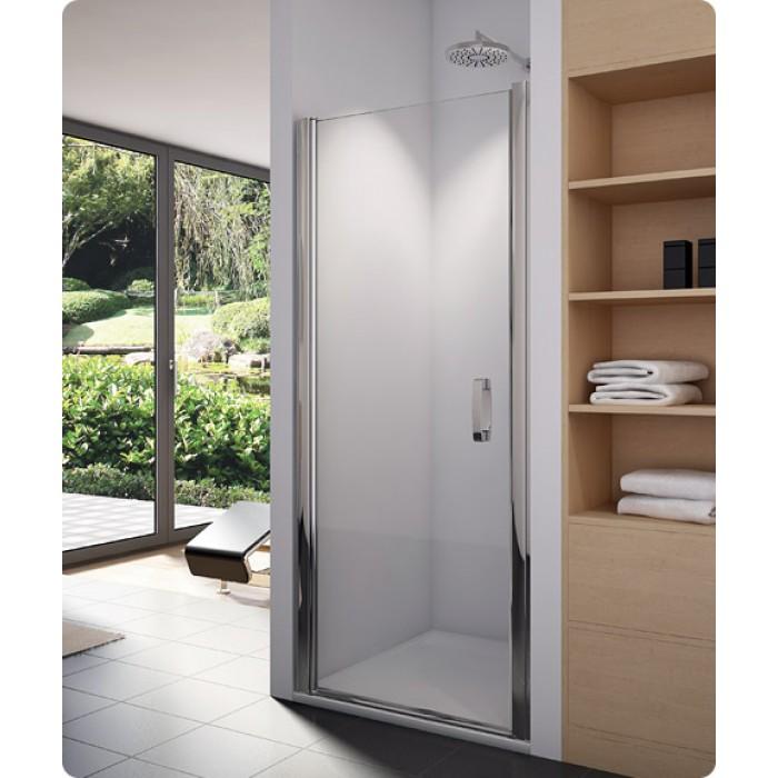 SL1 1000 50 07 SanSwiss Sprchové dveře jednokřídlé 100 cm