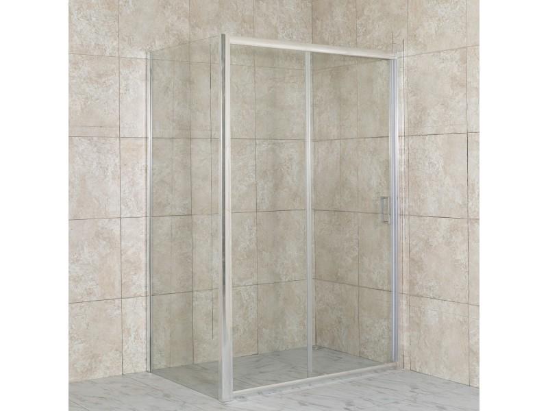 DIAS COMBI 100x70 čiré Well sprchová zástěna obdélníková