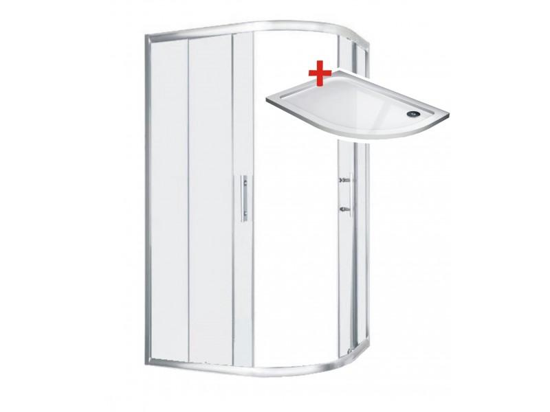 TORINO ROCKY 120x80 Levý Well Sprchový kout
