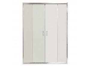 COSTA 130 Clear Well Čtyřdílné sprchové dveře posuvné