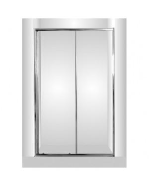 SMART - SELVA - 120 x 190 cm Sprchové dveře do niky grape