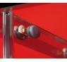 Sigma SG1415 Gelco Sprchové dveře čtyřdílné posuvné 150 x 190 cm - sklo čiré