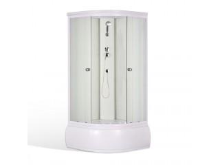 WHITE Well Sprchový box s vysokou vaničkou