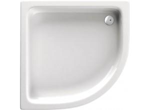 ANDA 80 Sprchová vanička čtvrtkruh, výška 26 cm