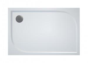 WAA 90 120 04 SanSwiss Sprchová vanička obdélníková 90×120 cm - bílá