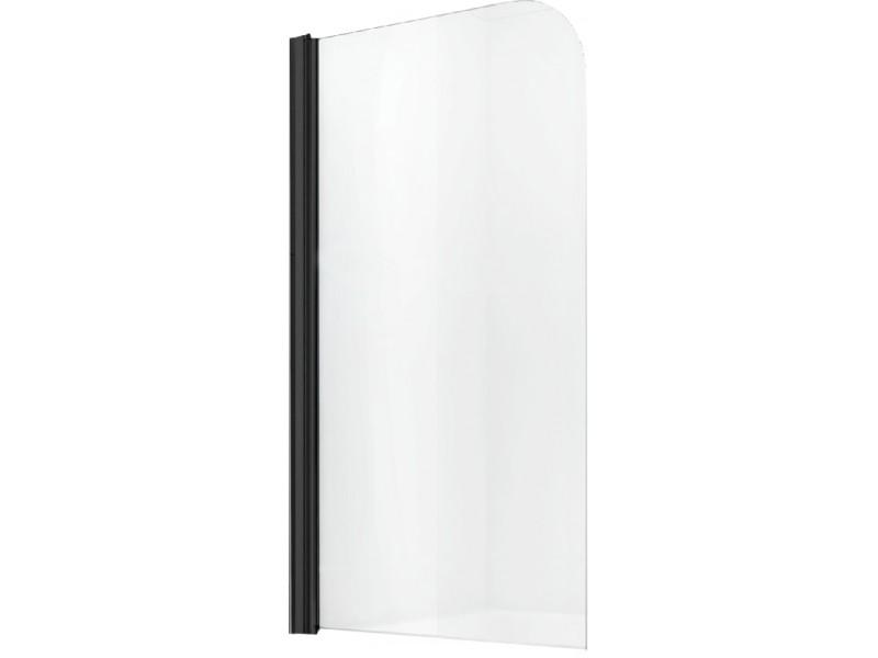 FILO BLACK 70x140 Well Vanová zástěna jednodílná