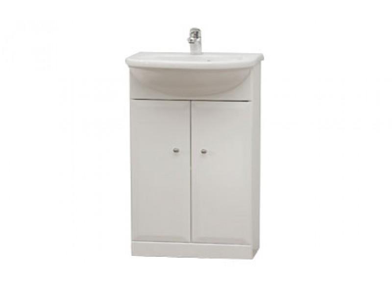 BEATA 55 Well Koupelnová skříňka s umyvadlem, sokl