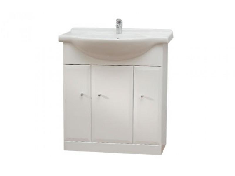 BEATA 75 Well Koupelnová skříňka s umyvadlem, sokl