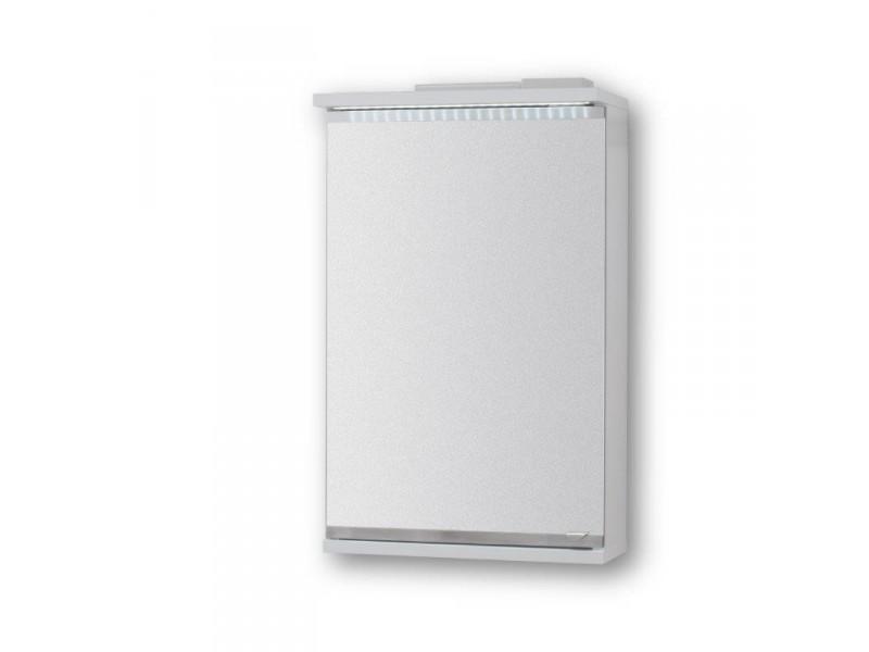 Vrchní zrcadlová skříňka NICE s LED osvětlením - 40 × 64 ×15 cm