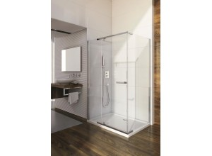HANNAH 100 x 80 cm Well Luxusní obdélníková sprchová zástěna