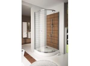 HANNAH 80 x 80 cm Well Luxusní čtvrtkruhová sprchová zástěna