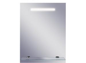 LINEA ll Olsen-Spa Zrcadlo s osvětlením a poličkou 50 x 65 cm