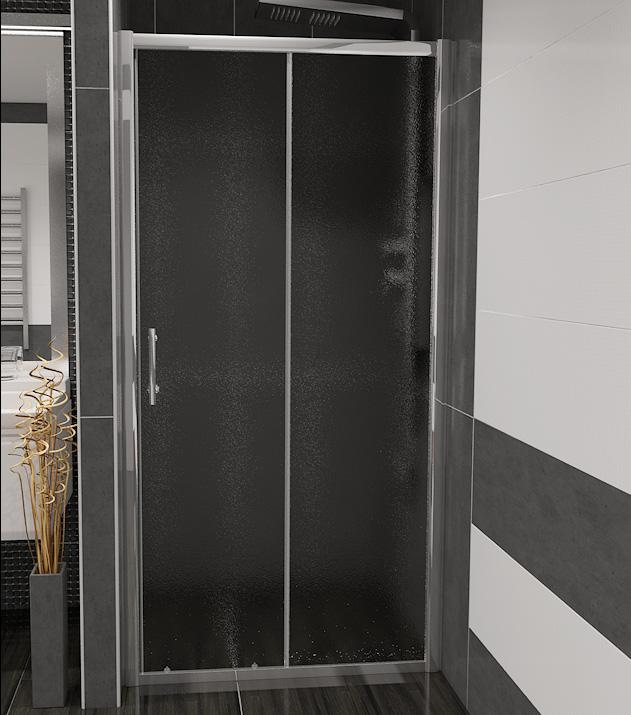 Well NICOL 100 grape W51931 sprchové dveře do niky