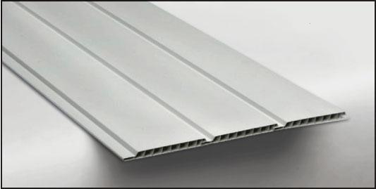 Hopa Plastový obkladový panel venkovní 01 bílý