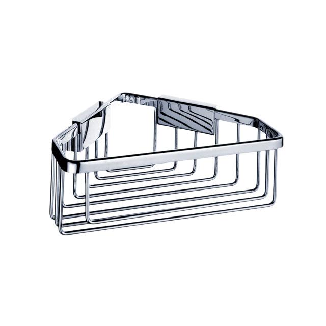 Ki 14003-26 Nimco Koupelnová drátěná rohová police