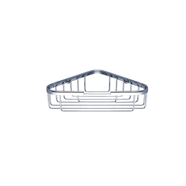 OP 102N-26 Nimco Koupelnová drátěná rohová polička