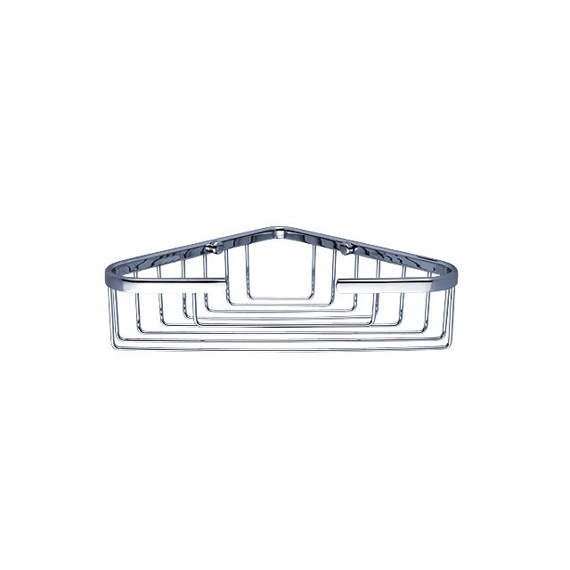 OP 103N-26 Nimco Koupelnová drátěná rohová polička