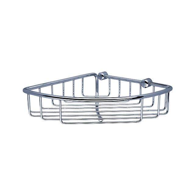 TR 404HN-26 Nimco Koupelnová drátěná rohová polička