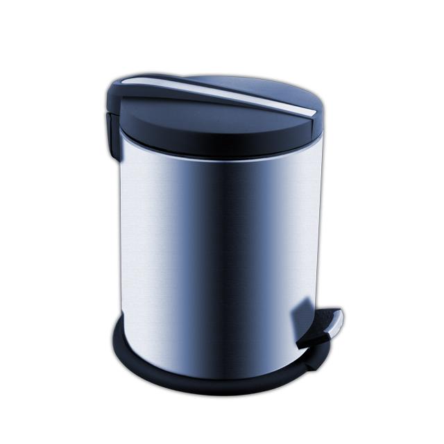 KOS 5005-40 Nimco Odpadkový pedálový koš nerez kulatý