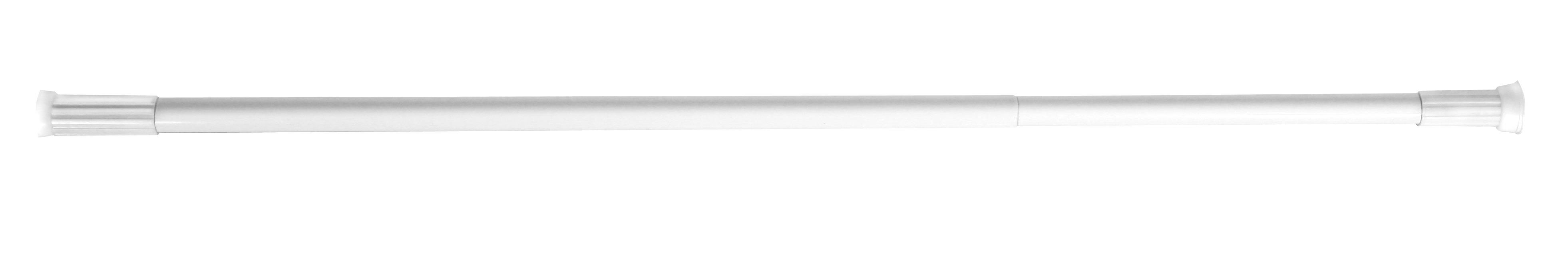 Tyč na sprchový závěs Olsen 70-120 bílá