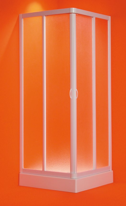 ANGELO 80-75 x 80-75 x 185 cm Olsen-Spa sprchová zástěna
