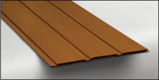 Hopa Plastový obkladový panel venkovní 08 světlé dřevo