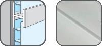 DA10301 Hopa Spojovací profil plastový 01 bílá 3m