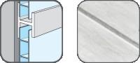 DA10329 Hopa Spojovací profil plastový 29 mramor 3m