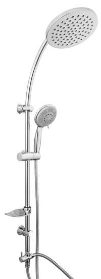 STREAM 624127 Olsen-Spa Sprchová tyč s příslušenstvím