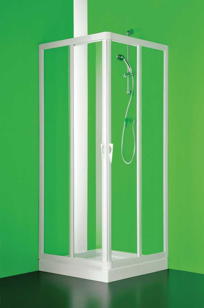 VELA 80 x 100 cm polystyrol Olsen-Spa sprchový kout