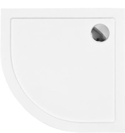 ARON 90x90 cm Olsen-Spa sprchová vanička čtvrtkruhová akrylátová