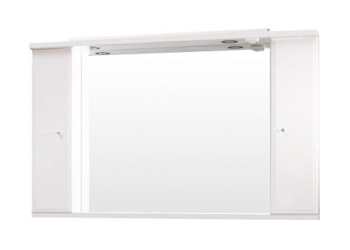 Well BEATA 130 Z W50893 Koupelnové zrcadlo se skříňkami