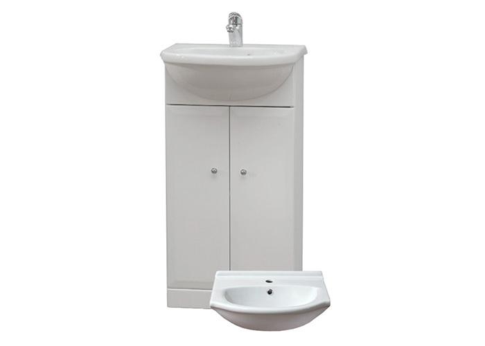 Well BEATA 40 W50824 Koupelnová skříňka s umyvadlem, sokl