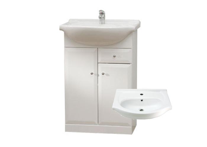 Well BEATA S 65 W50872 Koupelnová skříňka s umyvadlem, sokl, zásuvka