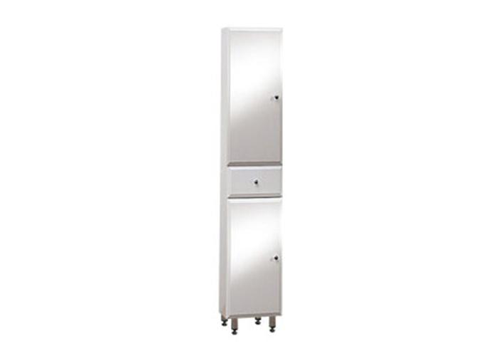 Well BEATA V 170 ZV L W50863 Koupelnová skříňka vysoká plná, závěsná s nožičkami, levá