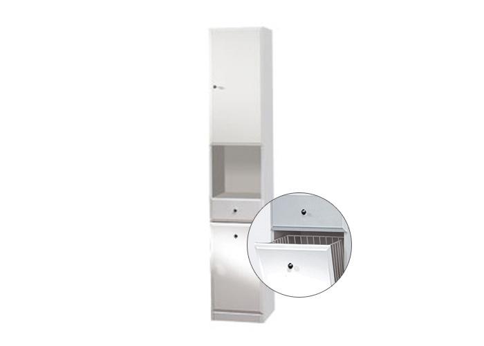 Well BEATA VK 32 P W50840 Koupelnová skříňka vysoká, sokl, koš, pravá