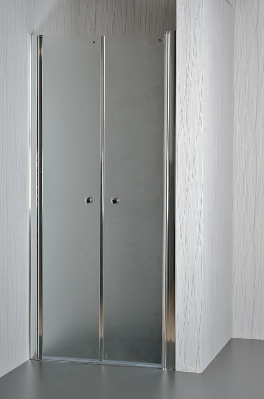 Well BETA 80 Grape W49644 Sprchové dveře do niky dvoukřídlé