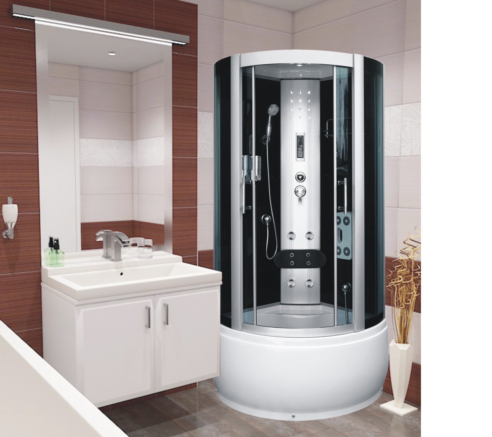 Well UNCLE DUO 90 W52719 sprchový masážní box