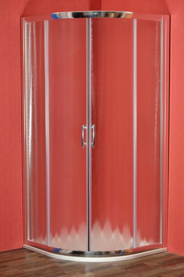 BRILIANT 80 chinchila NEW Arttec Sprchový kout čtvrtkruhový