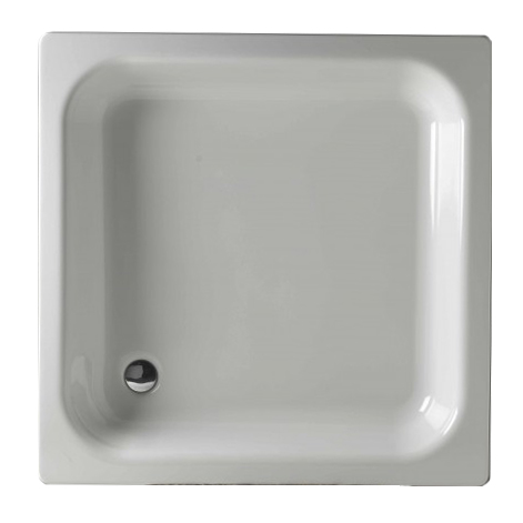 KITEN III 90 Olsen-Spa Smaltovaná plechová sprchová vanička