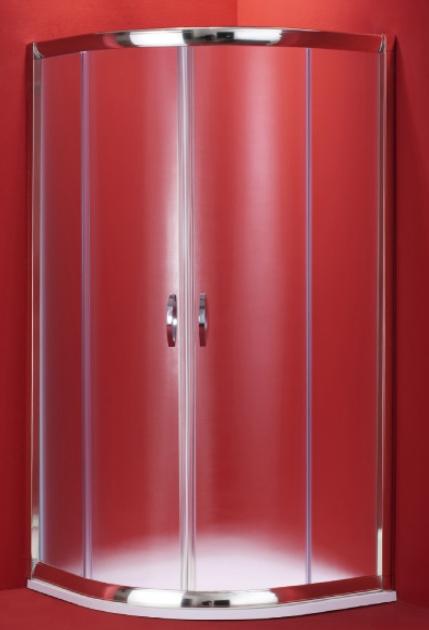 BARCELONA 100×100 chrom rám mat Olsen-Spa sprchový kout