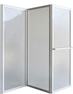 KARINA 139 × 135 cm Olsen-Spa vanová zástěna