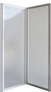 KARINA 94,5 × 135 cm Olsen-Spa vanová zástěna